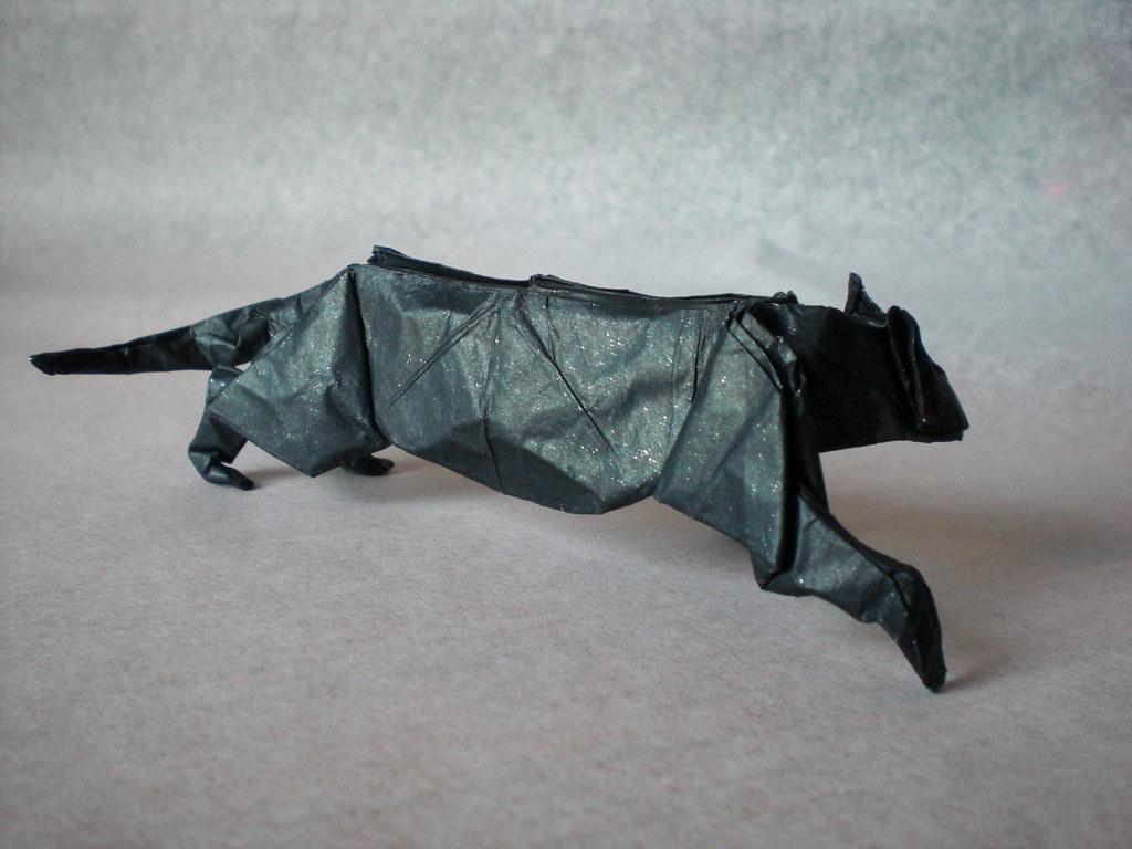 Origami Leopard