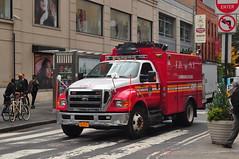 FDNY Communications (Triborough) Tags: nyc newyorkcity ny newyork ford manhattan firetruck fireengine fdny communications greenwichvillage f650 newyorkcounty fseries newyorkcityfiredepartment