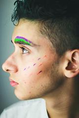 ~Jennir Narvez (TheJennire) Tags: camera light boy portrait people luz canon cores photo eyes friend colours foto profile young makeup olhos colores lips teen ojos cheeks fotografia camara phootgraphy tumblr
