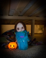 Blythe A Day 29 October 2014 - Monsters Under the Bed