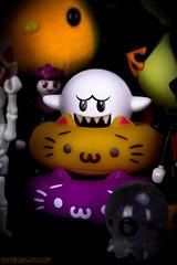 Happy Halloween! (Retrograde Works) Tags: hello halloween colors toys attack kitty apo 64 kawaii frogs pokemon titan minecraft takochu nekodo pumpkaboo
