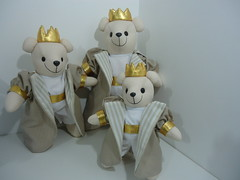 URSOS REI (Sonhos de Bonecas) Tags: ursos ursinhos ursopelucia ursosrei
