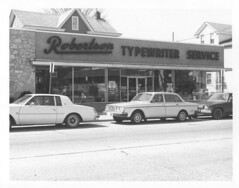 888 Haddon Avenue (collingswoodlib) Tags: blackandwhite shop newjersey 1982 business storefront avenue stiles collingswood haddon haddonavenue collingswoodpubliclibrary robertsontypewriterservice 888haddonavenue wstilesavenue