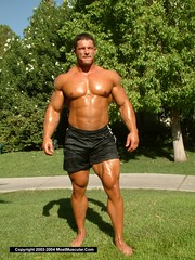 dave-johnson-022-1000 (davidjdowning) Tags: men muscles muscle muscular bodybuilding buff bodybuilder biceps