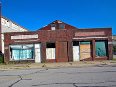 Abandoned Building, Steubenville, OH (Robby Virus) Tags: steubenville ohio abandoned building architecture sale service parts accessories cars automobiles