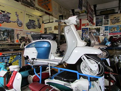 Scooter (daveandlyn1) Tags: lambretta sx200 westonsupermare transport scooter museum sx30is powershot canon