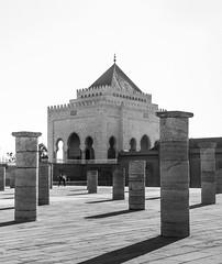 Mausoleum of Mohammed V - Mausole Mohammed-V (A.B.S Graph) Tags: hassan rabt rabat