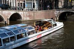 """Canal cruiser """"Breitner"""" (DennisM2) Tags: rondvaartboot toerisme amsterdam tourism canalcruiser leidsegracht keizersgracht toeristen tourists canals"""
