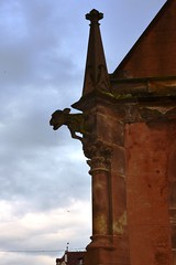 Der hllische Gargouille (Swiss_Ben) Tags: gargouille gargoyle obernai wasserspeier