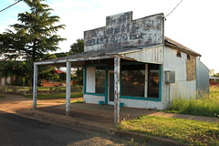 Hard Times in Yeoval (Darren Schiller) Tags: yeoval newsouthwales abandoned architecture building closed derelict disused decaying deserted dilapidated decay disappearing empty facade history heritage butcher old rural rustic rusty smalltown shop store