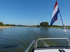 Hike and bike ferry on the river IJssel near Gorssel (joeke pieters) Tags: 1300072 panasonicdmcfz150 fietsveer veer pont ferry ijssel gorssel achterhoek gelderland nederland netherlands holland rivier river fence hff