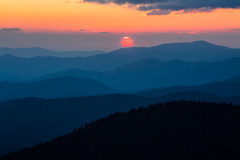 The Waves (picazam) Tags: smokymountain smokymountainnationalpark greatsmokymountainnationalpark waves sunset landscape layers mountains terrains subtleshade subtle shade color photography birazam picazam canon5dmkiii