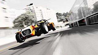 Caterham R500 take off