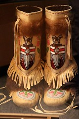 Mukluks (demeeschter) Tags: canada yukon territory teslin lake town heritage center native american tlingit historical museum art attraction