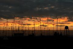 Nuvole e antenne all'alba (giorgiorodano46) Tags: gennaio2008 january janvier 2008 giorgiorodano alba antenne nuvole clouds sky nuages ciel aube dusk