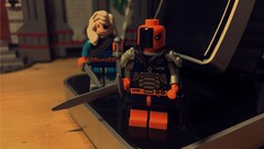 Deathstroke (LordAllo) Tags: lego dc new 52 suicide squad rebirth deathstroke slade wilson rose ravager
