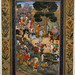 Babur meeting with Sultan Ali Mirza at the Kohik River - 1590- Cleveland Museum of Art