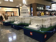 The LEGO Americana Roadshow. (trident2963) Tags: lego american americana l e g o tour united states alderwood mall us capitol white house monument washington state supreme court liberty bell clock church statue building across america