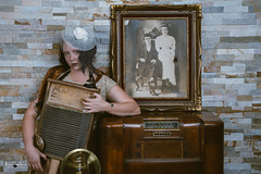 Norah Spades and her trusty washboard (Brian Copeland Photography) Tags: man interior studio fujipro160nsemulation woman portraitphotography model gender musicians portrait rnifilmemulation thevaudevillian band bust face female females headshot indoor likeness male males men music people performer person portraiture portrayal profile women hamilton ontario canada ca