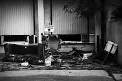 Dump. Windsor, ON. (Pat86) Tags: photooftheday windsor nikond7000 blackandwhite streetphotography dump garbage trash illegal