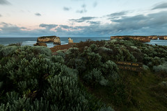 Please keep out! (Derek Midgley) Tags: d751304 bayofislands greatoceanroad victoria australia dawn early moonset