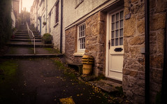 Mutton Row (David Haughton) Tags: cornwall cornish cottages houses penryn steps ope walk lane row terrace town village