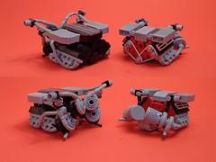 De Tomaso Pantera Engines (Senator Chinchilla) Tags: de tomaso pantera lego v8