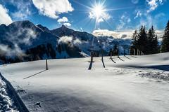 The first Snow Trail this Autumn (*Capture the Moment*) Tags: 2016 berge clouds farbdominanz gurnigel himmel lakethunersee landschaften mountains schnee schweiz sky snow sonya7m2 sonya7mii sonya7mark2 sonya7ii sonyfe2470mmf4zaoss switzerland thunersee wetter wolken blau blue