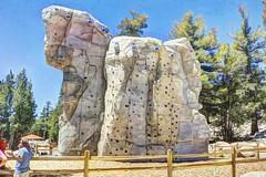 The Rock Wall (joe Lach) Tags: heavenlymountainresort gondola rockwall offseasonskiresort climbing laketahoe california joelach