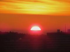 Morgenstelle - sunset over the University Tbingen (eagle1effi) Tags: sunset sx60 morgenstelle universitt tbingen hochhuser 20stockwerke canon powershot sx60hs