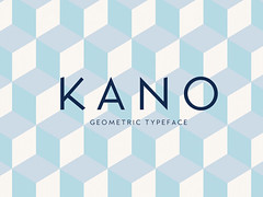 Download Kano: Free geometric font (vectorarea) Tags: fonts freecutefontdownload sansserif