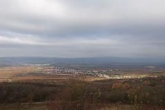 Friedenskreuz: Blick auf Ockenheim, Rheintal und Taunus