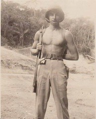 #My grandfather, taken when he was 25 years old and a US Marine. This was taken soon after being stationed in Panama, 1945. [403x500] #history #retro #vintage #dh #HistoryPorn https://www.reddit.com/r/HistoryPorn/comments/5cc4p1/my_grandfather_taken_when_ (Histolines) Tags: histolines history timeline retro vinatage my grandfather taken when he was 25 years old us marine this soon after being stationed panama 1945 403x500 vintage dh historyporn httpswwwredditcomrhistoryporncomments5cc4p1mygrandfathertakenwhenhewas25yearsoldandutmsourceifttt