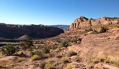 Looking down-canyon toward the Colorado River... 20160925_7196 (listorama) Tags: usa utah moab culvertcanyon coronaarchdomes dbnotes
