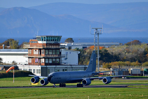 USAF KC-135R 60-0357 at Prestwick