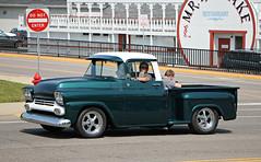 1958-1959 Chevrolet 3100 (SPV Automotive) Tags: 1958 1959 chevrolet 3100 pickup truck classic car green