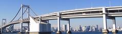 TOKYO RAINBOW BRIDGE (patrick555666751) Tags: tokyo rainbow bridge ponts pont puente puentes bridges tokyorainbowbridge nihon nippon cipango jipangu japao giappone japo edo kanto honshu tokio toquio japon japan asie est east asia brucke