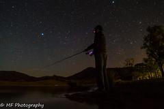 Luring the stars (Mick Fletoridis) Tags: fishing night sky stars australia sonyimages sonyrx100iv longexposure