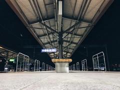 Empty station (Alfred Chan Chin Fatt) Tags: vscocam vsco procamapp night seoul southkorea railwaystation empty station iphone7plus iphonephoto