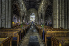 Cartmel Priory 5 (Darwinsgift) Tags: cartmel priory lake district cumbria church interior nikkor 14mm f28 d ed nikon d810 hdr photomatix national trust