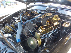 1955 Studebaker (bballchico) Tags: 1955 studebaker arlingtoncarshow arlingtondragstripreunionandcarshow carshow 1950s engine 206 washingtonstate arlingtonwashington