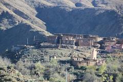 Crossing the Atlas Mountains (John Englart (Takver)) Tags: morocco atlasmountains mountains village berber