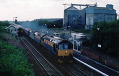2 2nite...Firstly a multiple traction/route tour....... on this leg Cromtons featured....1Z20 33207/051/030  Kenny Olympia-Stratford via Cambridge and Newmarket 10-08-1996 (the.chair) Tags: 1z20 33207051030 multiple marauder kenny ostratford via cambridge newmarket ketton aug 1996