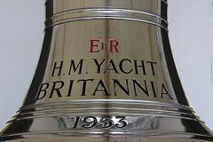 THE ROYAL YACHT BRITANNIA (Andrew Mansfield - Sheffield UK) Tags: royalyacht royalyachtbritannia britannia ship boat oceanterminal portofleith edinburgh scotland leith yacht bell shipsbell