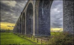 Welland Viaduct (Darwinsgift) Tags: welland viaduct arches harringworth northamptonshire seaton rutland pce nikkor 24mm f35 ed d nikon d810 hdr photomatix greatphotographers greaterphotographers