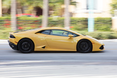 Yellow Flash (GRO Photography) Tags: supercar huracan panning lamborghini yellow
