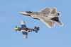 Legacy Flight Air Force (4myrrh1) Tags: legacyflight airforce aircraft airplane aviation airshow airplanes airport pax river md 2016 good light flight flying military fighter canon ef100400l 7dii p51 mustang f22 raptor