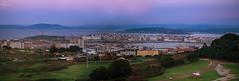 A Corua... (Leo ) Tags: ciudad anochecer atardecer cielo color luz acorua galicia