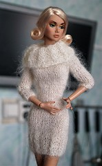 """Dress and scarf clothes for Fashion Royalty, Poppy Parker, FR2, dolls 12"""" (electraere) Tags: dress scarf clothes fashionroyalty poppyparker fr2 dolls12"""
