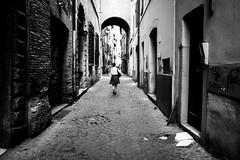 Rome, Italy 2016 (Lucio Frabotta) Tags: ngc walking woman bw blackandwhite leicaq people leica persone roma rome street italia streetphotography streetlife italy blancoynegro photography summilux biancoenero monochrome noiretblanc monocromo monocrome mono lazio 28mm